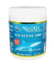 Squalene 1000 - pure extract from the shark´s livers oil - 200 caps
